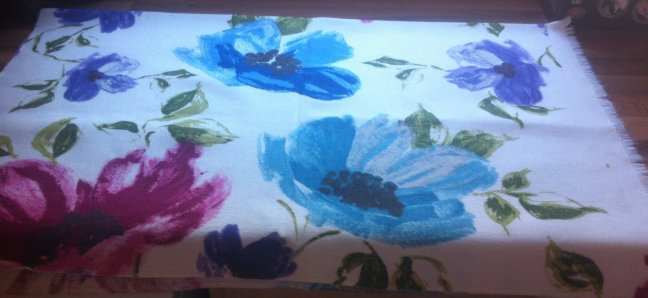 Bold Flowers Fabric