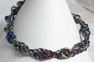 Niobium Necklace