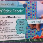 Peel 'n' Stick Fabric Borders