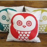 Handcrafted Owl Cushion
