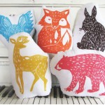 Woodland Creatures Cushions