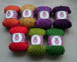 Lambswool skeins