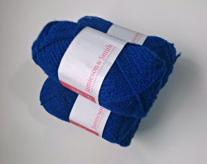 Balls of Jamieson & Smith wool